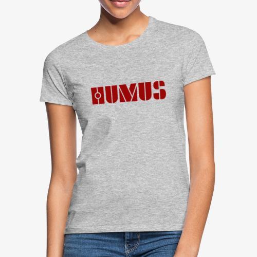 Densm logga HUMUS - T-shirt dam