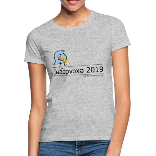 Schreibwoche 2019 (schwarze Schrift) - Frauen T-Shirt