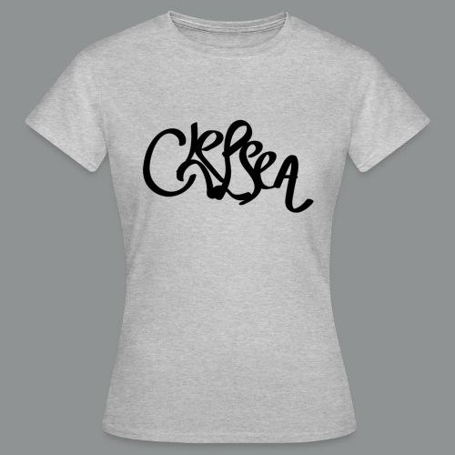 Vrouwen shirt (rug) - Vrouwen T-shirt