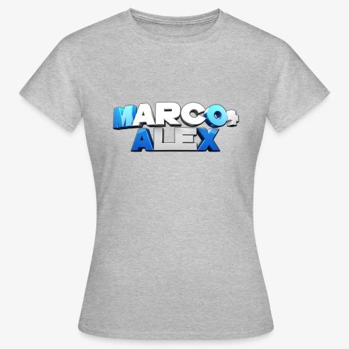 Logo Marco+Alex - Maglietta da donna