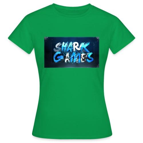 SharkGames - Maglietta da donna