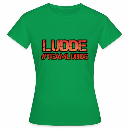 TEAMLUDDE MOTIV - T-shirt dam