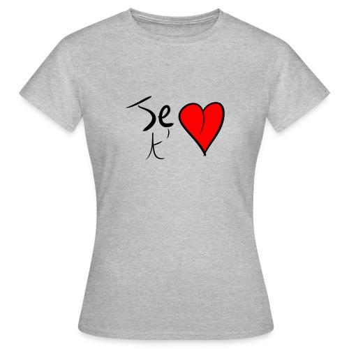 Je t'aime Saint Valentin - T-shirt Femme