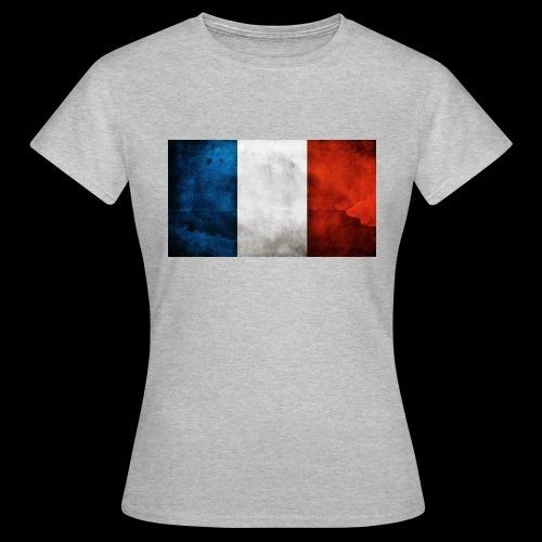 DRAPEAU BLEU BLANC ROUGE - T-shirt Femme