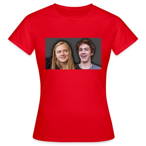 Profil billede beska ret - Dame-T-shirt