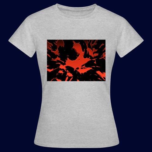 crazy red - Frauen T-Shirt