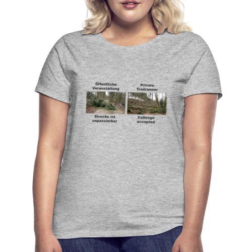 Trailrun Challenge - Frauen T-Shirt