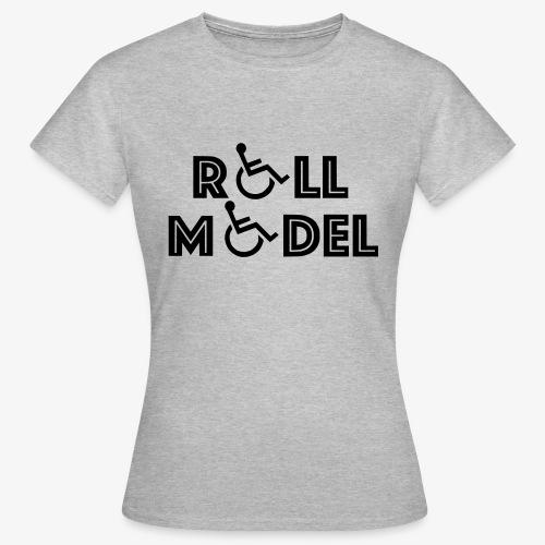 Rolstoel model - Vrouwen T-shirt