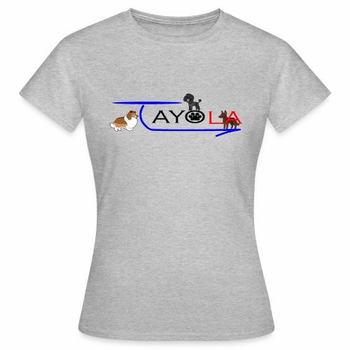 Tayola Black - T-shirt Femme