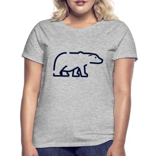 El oso - Camiseta mujer
