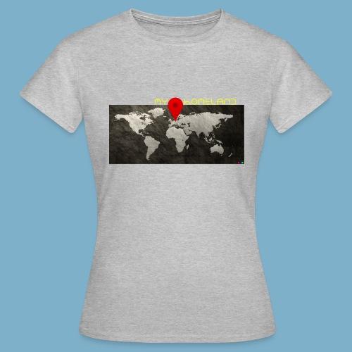 homeland my base - Frauen T-Shirt