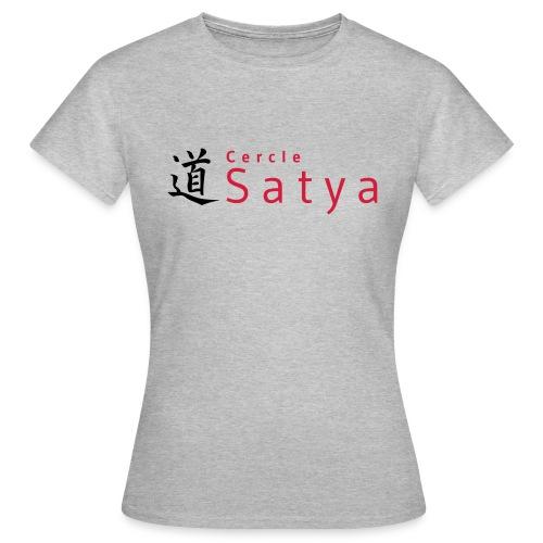 logo inline - T-shirt Femme