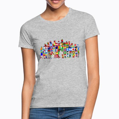 all the world - Women's T-Shirt