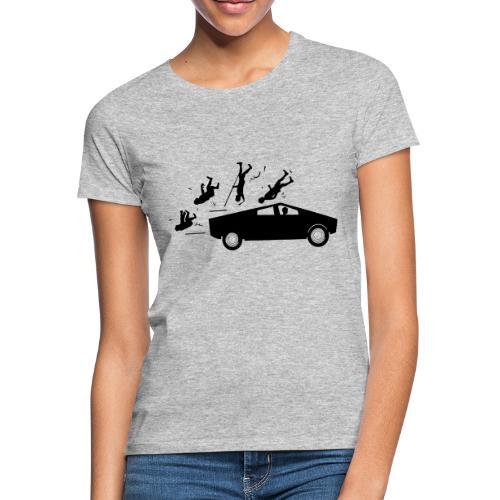 Evolution accident tesla Cybertruck par Elon Musk - T-shirt Femme