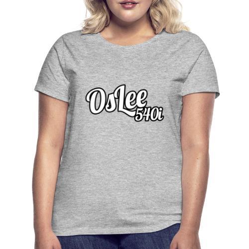OsLeeLogoschattenGross - Frauen T-Shirt