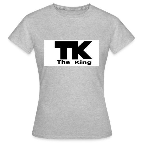 The King med ram - T-shirt dam