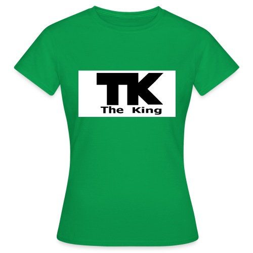The King med ram - T-shirt dam