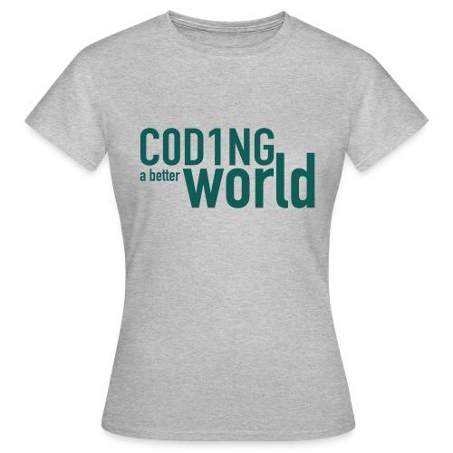 C0D1ING2 - Vrouwen T-shirt