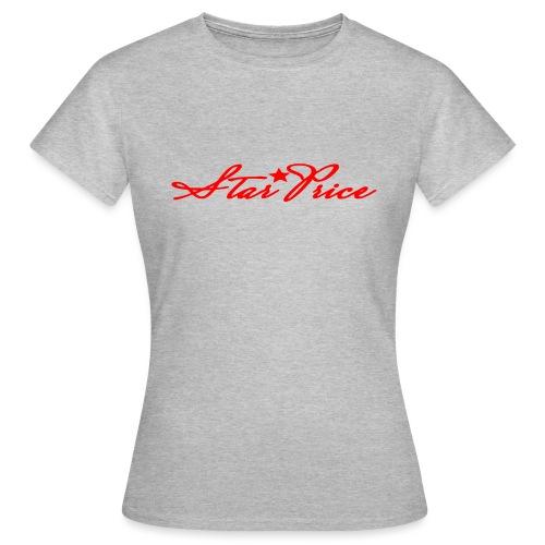 star price (red) - Women's T-Shirt