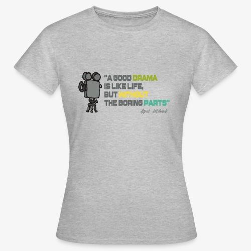 Pasión por el cine - Camiseta mujer