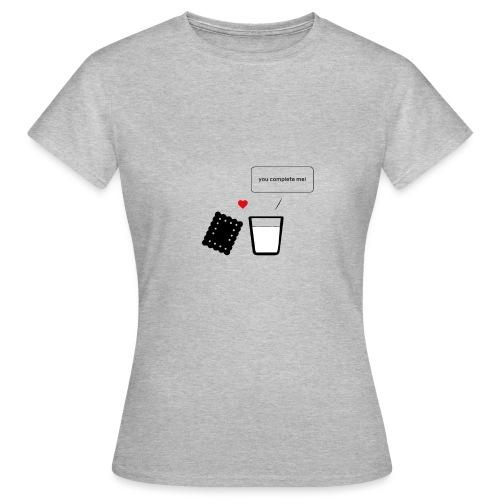 Regali per Innamorati   Mi Completi - Maglietta da donna