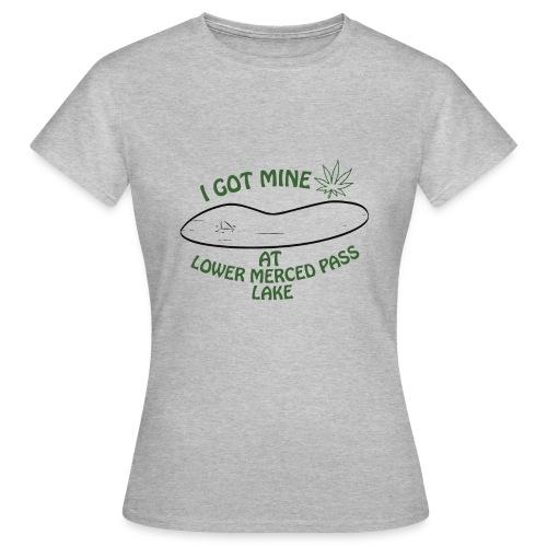Lago Lower - Camiseta mujer