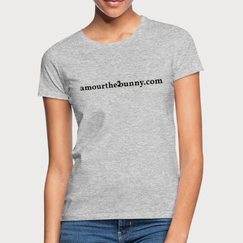 Website Adress Black - Frauen T-Shirt