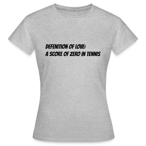 Tennis Love sweater women - Vrouwen T-shirt