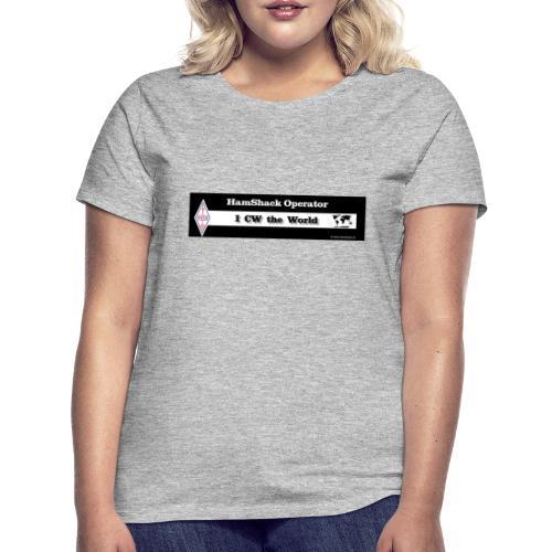 Tshirt Back Text CWtheworld - Women's T-Shirt