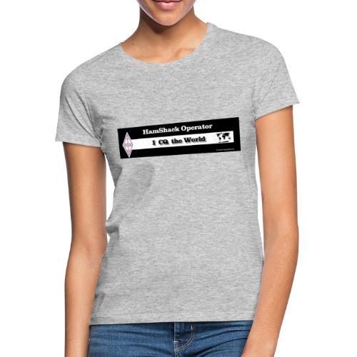 Tshirt Back Text CQtheworld - Women's T-Shirt