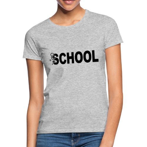f school - Dame-T-shirt