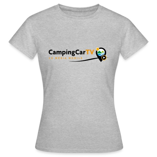 LOGO CCTV - T-shirt Femme