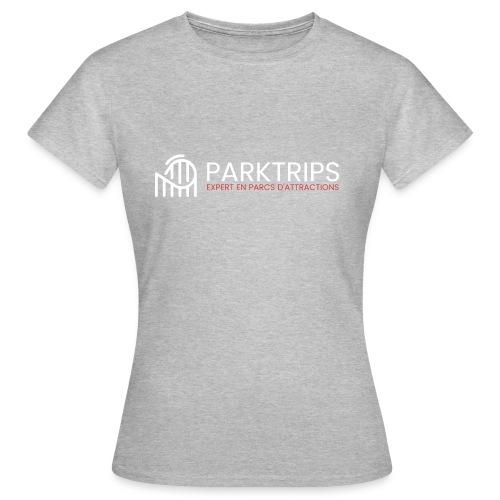 Park Trips - Logo Blanc - T-shirt Femme
