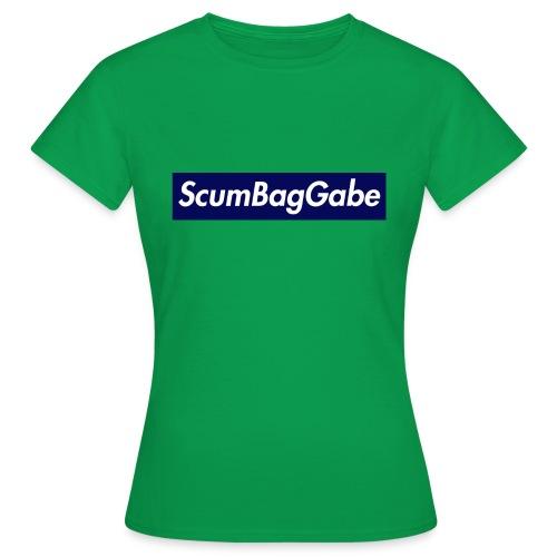 ScumBagGabe Blue XL Logo - Women's T-Shirt