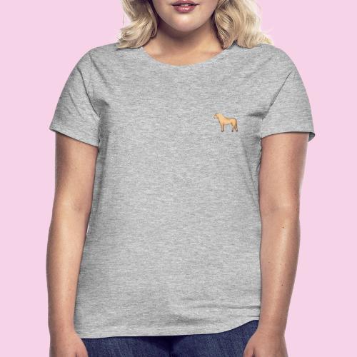 Fjordhäst stående - T-shirt dam