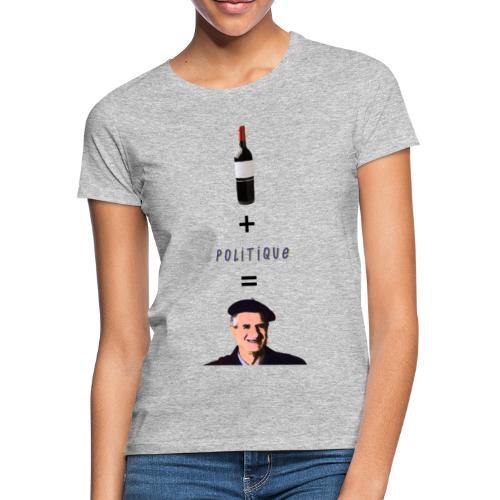 La politique - T-shirt Femme
