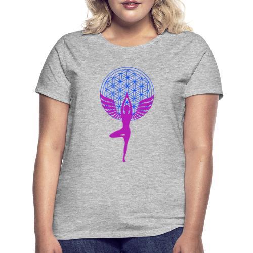 fleur de vie yoga n°1 - T-shirt Femme