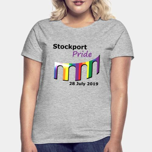 Stockport Pride 2019 - Women's T-Shirt