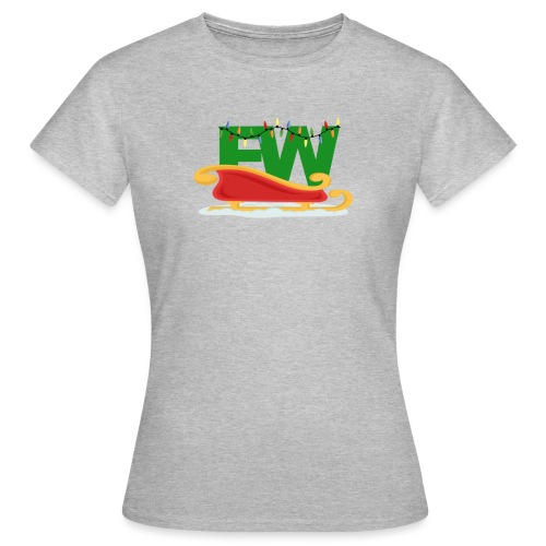 Limited adition chrismas fw merch - Women's T-Shirt