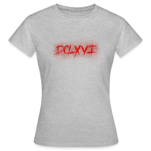 666 Roman Numerals - Women's T-Shirt