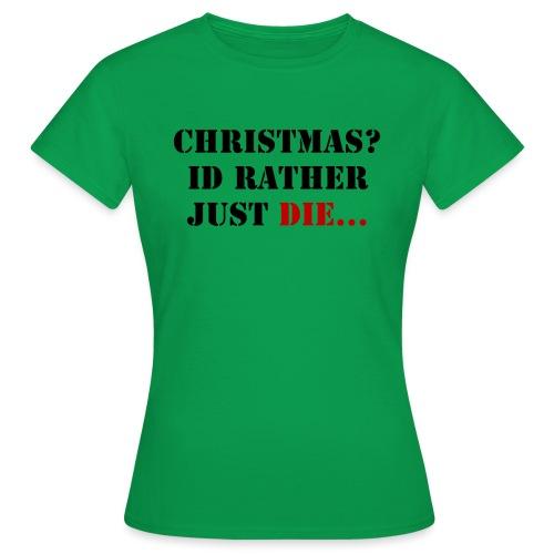 Christmas joy - Women's T-Shirt