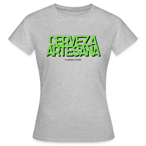 Cerveza Artesana - Camiseta mujer