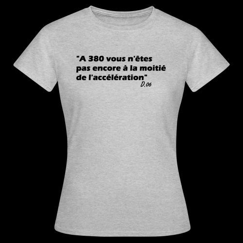 380 noir - T-shirt Femme