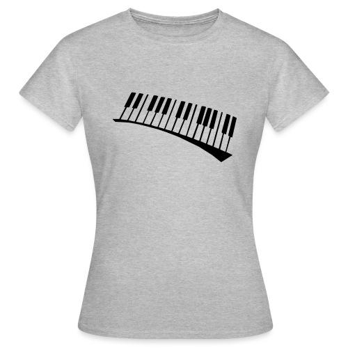 Piano - Camiseta mujer