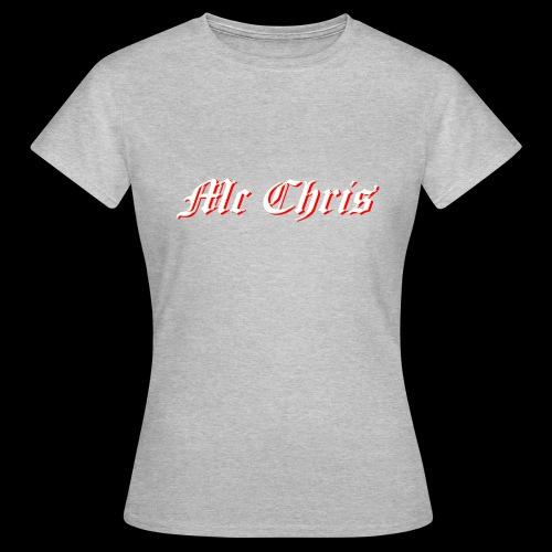 McChrislOGO11 - Frauen T-Shirt