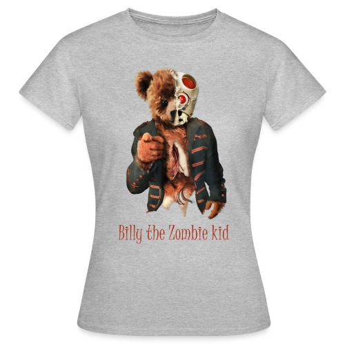 Billy the Zombie kid T-shirt. - T-shirt dam