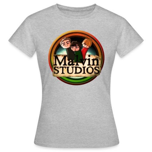 malvin studios snygg logga - T-shirt dam