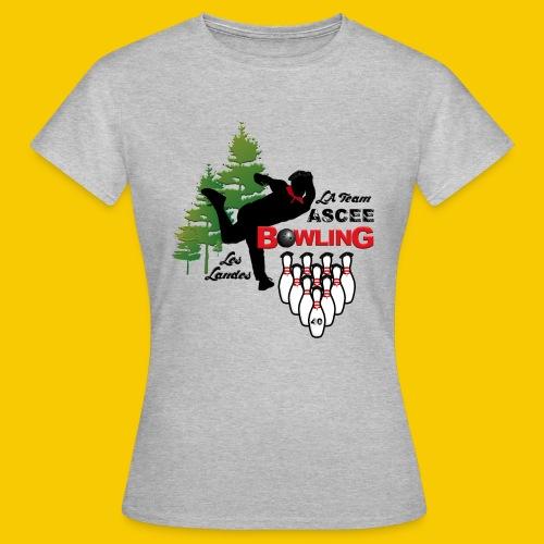 BOWLING ASCEE40 - T-shirt Femme