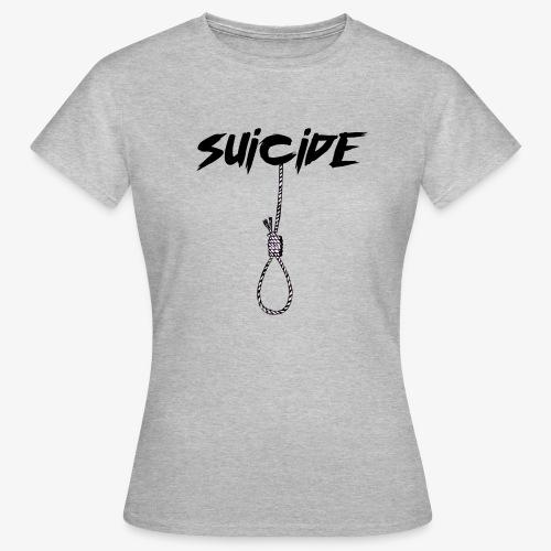 SUICIDE - Maglietta da donna