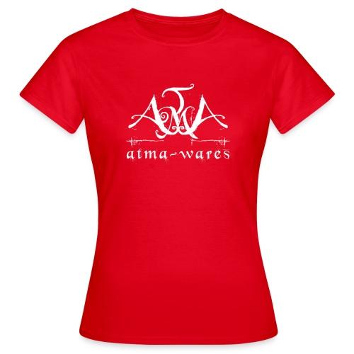atma wares logo white - Vrouwen T-shirt